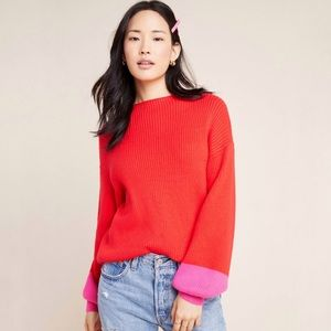 Line & Dot Sydney Balloon Sleeve Sweater